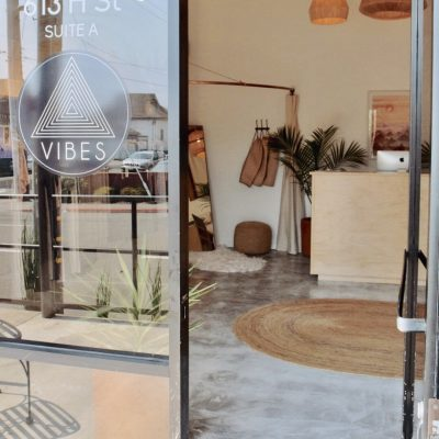 Vibes Yoga Entrance