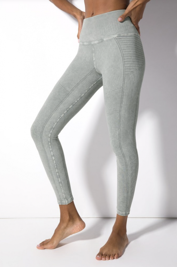 Mid Rise Leggings London Fog